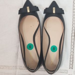 Cole Haan Women Flat shoes Size 8 Black pointy toe